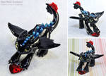 Alpha Toothless with Heart Crystal