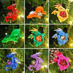 Dragon Ornaments