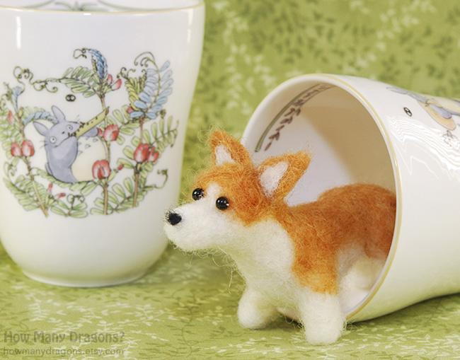 Teacup Corgi by HowManyDragons on DeviantArt