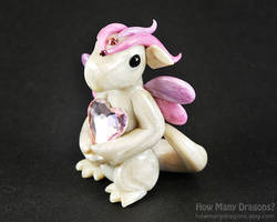 Pastel Pearl Heart Dragon by HowManyDragons