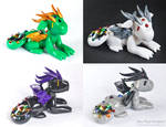 Rainbow Guardian Dragons