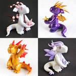 Paper Crane Dragons