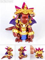 Yu-Gi-Oh: Pharaoh Atem by HowManyDragons