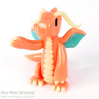 Dragonite in Clay by HowManyDragons