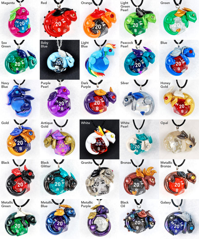 Colorful dragon pendants by howmanydragons on deviantart colorful dragon pendants by howmanydragons nvjuhfo Image collections