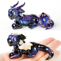Galaxy Dice Holder Dragons