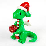 Festive Dice Dragon by HowManyDragons