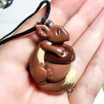 Squirrel-dragon Pendant
