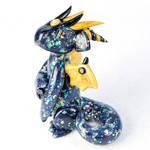 Black Opal Dragon by HowManyDragons