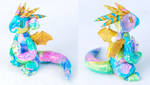 Rainbow Opal Dragon