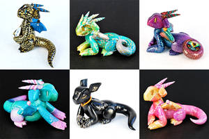 Etsy Shop Update 7/20 by HowManyDragons