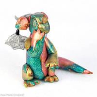 Earthy Golden Dichro Dragon by HowManyDragons