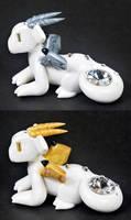 Diamond Birthstone Dragon - Rework