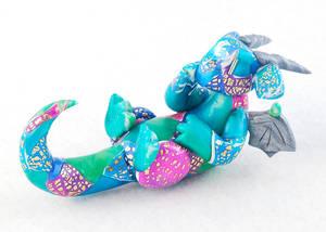 Pastel Patchwork Dragon
