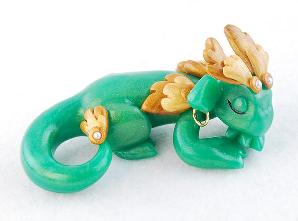 Sleeping Jade and Wood Dragon
