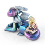 Rainbow Bismuth Dragon