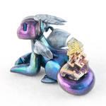 Rainbow Bismuth Dragon