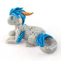 Stone-textured Kirin Dragon by HowManyDragons