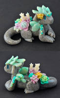 Succulent Dragon Guardian by HowManyDragons