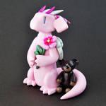 Pink Memorial Dragon