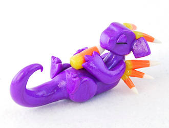 Purple Candy Corn Dragon