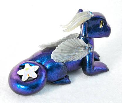 Blue Sea Star Dragon by HowManyDragons