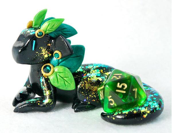 Seasonal Dragons: Summer Leaf