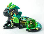 Seasonal Dragons: Summer Leaf by HowManyDragons