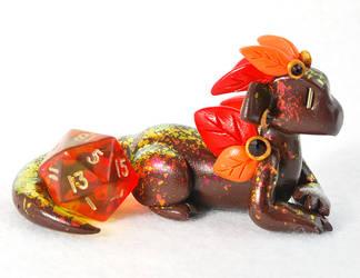 Seasonal Dragons: Autumn Maple by HowManyDragons