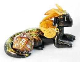 Seasonal Dragons: Autumn Aspen by HowManyDragons