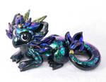 Fluffy Cat-Dragon Hybrid