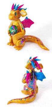 Golden Peacock Dragon