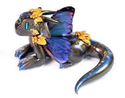 Blue Morpho Butterfly Dragon