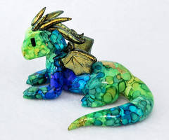 Lord Goldbottom, the Ink-Painted Dragon