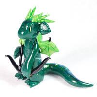 Dark Green Archer Dragon