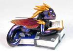 Galaxy Book Hoarder Dragon