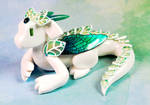 White and Green Fairy Leaf Dragon