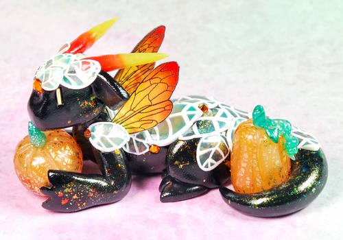 Translucent Leaf Pumpkin Dragon