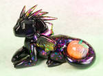 Purple Opal Pumpkin Dragon
