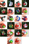 Baby Dragon Ornament Baubles by HowManyDragons