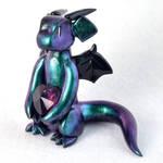 Green-Purple Color Shift Heart Dragon