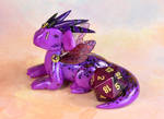 Purple Fairy Dice Dragon by HowManyDragons