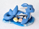 Polymer Clay Shark-Dragon Hybrid