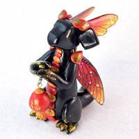 Lunar New Year Lantern Dragon by HowManyDragons