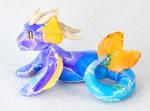 Purple and Blue Sea Dragon