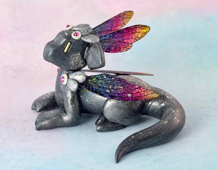 Graphite Rainbow Holo Dragon