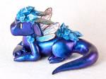 Blue Crystal Fairy Dragon