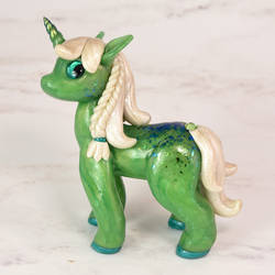 Jade Unicorn Figurine