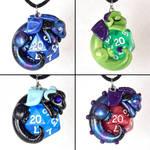 D20 Dragon Necklaces