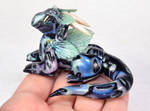 Finned Abalone Shell Dragon